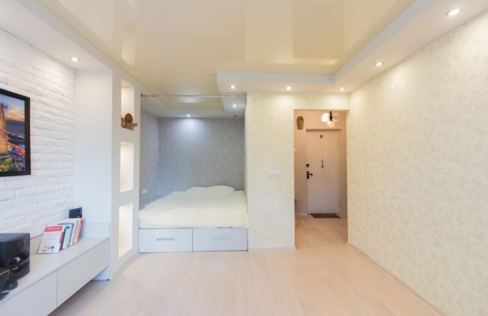 Бюджетный ремонт однокомнатной квартиры под ключ