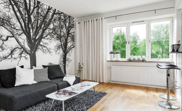 Заказать дизайнерский ремонт однокомнатной квартиры